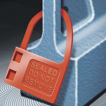 Security Seals Plaseal Padlock