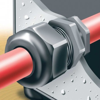 Pg Thread Cable Glands  (UL94V-2 ) - with Locknuts