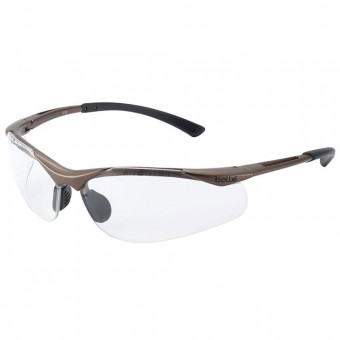 Bolle Safety CONTOUR Safety Glasses - Clear