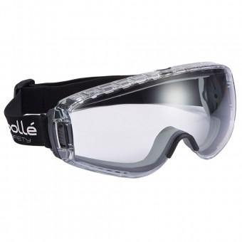Bolle Safety Pilot Ventilated Safety Goggles Clear