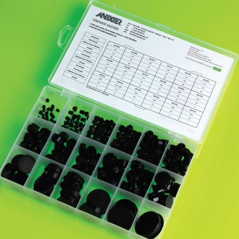 Dome Plug Assortment Kit HEYCO Brand