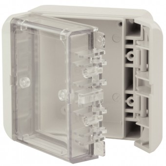 Bocube Enclosures Polycarbonate with Crystal Clear Lid