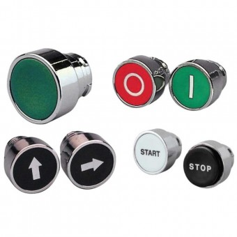 Push Buttons for 22mm Diameter Control Switches