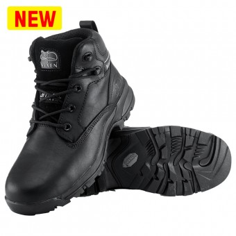 Rock Fall VX950A Onyx Black Women's Safety Boot Size 4