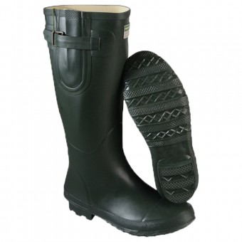 Town & Country Bosworth Wellington Boots Green | Fasteners