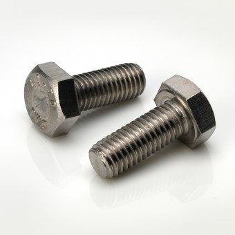 DIN 933 Hexagon Head Metric Set Screws - BZP & Stainless Steel