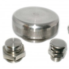 Ventilation/Pressure Balance Plugs-Stainless Steel