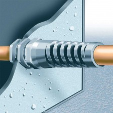 Flex-Protecting Metric Thread Cable Glands - with Locknuts