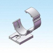 Slit Harness Wrap Mounting Clips