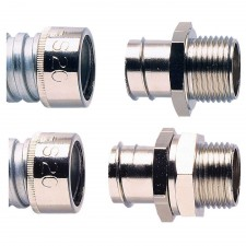 Metric Straight Stainless Steel Conduit Connectors