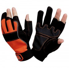 Bahco Carpenters' Fingerless Glove Large (Size 10)
