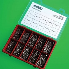 Stainless Steel Fastener Assortment Kits