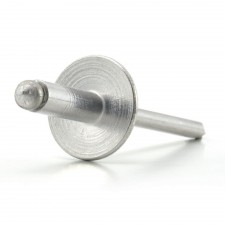 Aluminium Pop Rivets - Standard Open Type: Large Flange