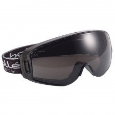 Bolle Safety Pilot Ventilated Safety Goggles - Smoke