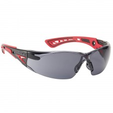 Bolle Safety RUSH+ Platinum Safety Glasses - Smoke