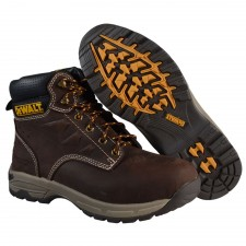 DEWALT SBP Carbon Nubuck Safety Hiker Brown Boots