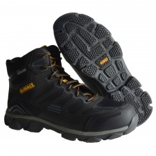 DEWALT Crossfire Kevlar Black Safety Hiker Boots