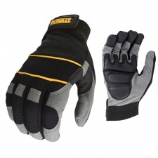 DEWALT Power Tool Gel Gloves Black / Grey