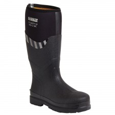 DEWALT Black S5 Rubber/Neoprene Safety Wellingtons