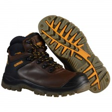 DEWALT Newark S3 Waterproof Safety Hiker Brown Boots