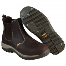 DEWALT Radial Safety Brown Boots