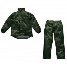 Dickies Green Vermont Waterproof Suit