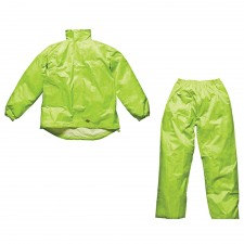 Dickies Yellow Vermont Waterproof Suit
