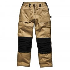 Dickies GDT290 Trouser Khaki & Black Waist 42in Leg 33in
