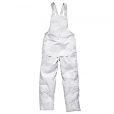 Dickies Painter's Bib & Brace White