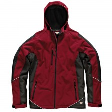 Dickies Two Tone Soft Shell Red / Black Jacket - XXL (52-54in)