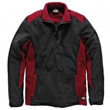 Dickies Two Tone Micro Fleece Red / Black - L (44-46in)