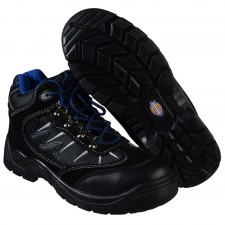 Dickies Storm Super Safety Hiker Black/Blue Boots