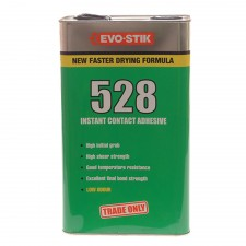 Evo-Stik 528 Instant Contact Adhesive 5 Litre