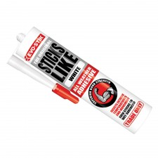 Evo-Stik Sticks Like All Weather Adhesive White 290ml