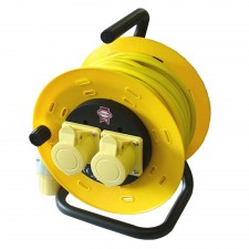 Faithfull Power Plus Cable Reel 16 amp 1.5mm Cable 110V