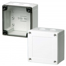 1000 Series-FIBOX MNX PC 100 x 100 Enclosures with metric knock-outs