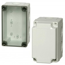 1000 Series-FIBOX MNX PC 130 x 80 Enclosures with metric knock-outs