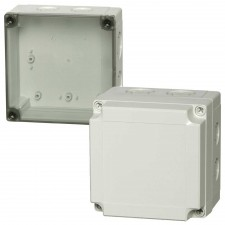 1000 Series-FIBOX MNX PC 130 x 130 Enclosures with metric knock-outs