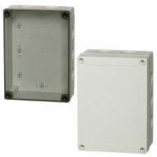 1000 Series-FIBOX MNX PC 180 x 130 Enclosures with metric knock-outs
