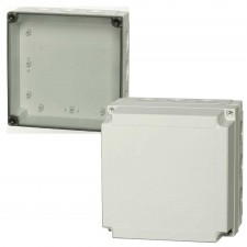1000 Series-FIBOX MNX PC 180 x 180 Enclosures with metric knock-outs