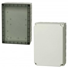 1000 Series-FIBOX MNX PC 255 x 180 Enclosures with metric knock-outs