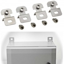Wall Mounting Lug Set 10mm Between Wall & Cabinet