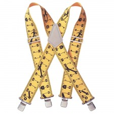 Kuny's Yellow Tape Measure Braces