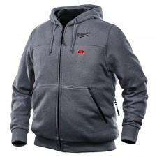 Milwaukee M12 HHGREY2-0 Grey Heated Hoody - L