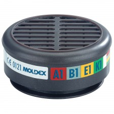Moldex ABEK1 Gas Filter For 8000 Half Mask (Wrap of 2)