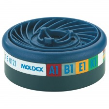 Moldex EasyLock ABEK1 Gas Filter Cartridge (Wrap of 2)