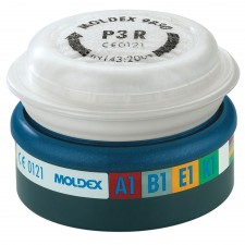 Moldex EasyLock ABEK1P3 R D Pre-assembled Filter (Wrap of 2)