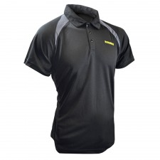 Roughneck Clothing Black Quick Dry Polo Shirt