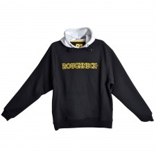 Roughneck Clothing Black & Grey Hooded Sweatshirt - XXL (50-52in)