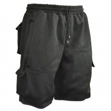 Roughneck Clothing Jogger Shorts Black